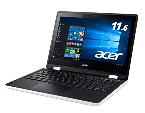 Acer ノートパソコン Aspire R3-131T-H14D/WF Windows10/Microsoft Office/11.6インチ/4G/500GB/クラウドホワイト -