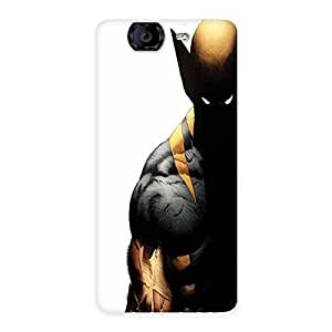 Ajay Enterprises Wolf Sneek Back Case Cover for Canvas Knight A350