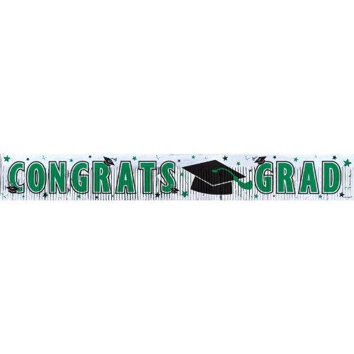 grad met frngd banner 5`green