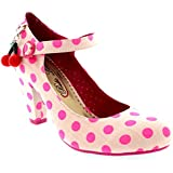 Womens Poetic Licence The Right Stripes Evening High Heel Court Shoe