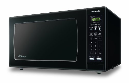 Panasonic NN-SN733BAZ Black 1.6 Cu. Ft. Countertop Microwave Oven with Inverter Technology (Microwave Inverter Oven compare prices)