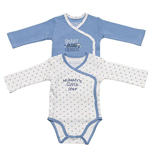 SALT AND PEPPER NB Bodie Set Little Star, Body Bimba, Mehrfarbig (Original 099), 3 mesi