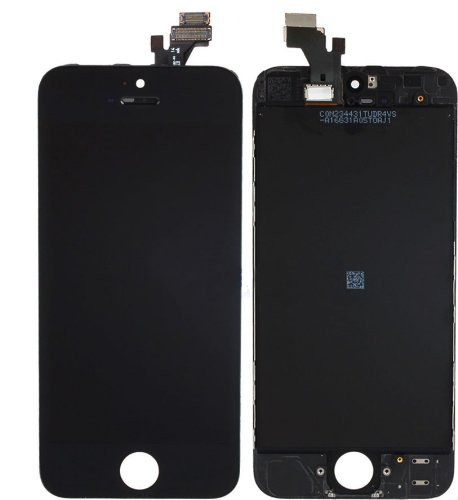 New Black iPhone 5 Touch Screen Digitizer + LCD Replacement Part - Complete Assembly FULLY TESTED