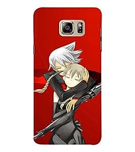 EPICCASE Anime love Mobile Back Case Cover For Samsung Note 6 (Designer Case)
