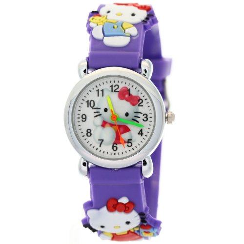 TimerMall-Lovely-Hello-Kitty-Circle-Dial-Purple-Rubber-Strap-Quartz-Kids-Watches