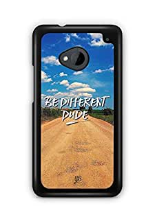 YuBingo Be Different Dude Designer Mobile Case Back Cover for HTC One M7