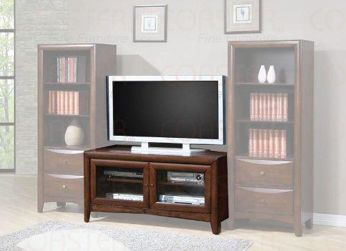 Cheap Dark Walnut TV Stand with 2 Doors – Coaster 700281 (B005LWQSJE)