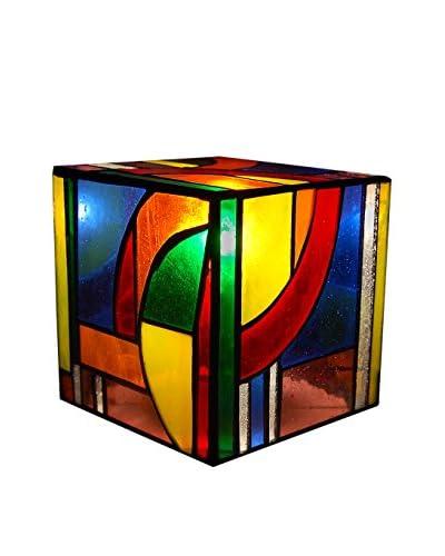 Arte Dal Mondo Lámpara De Dormitorio Cubo Kandinsky