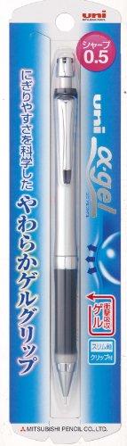 三菱鉛筆 α-gelシャープ05クロ M5807GG1P.24
