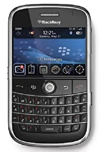 Blackberry Bold 9000 Unlocked Phone With 2 Mp Camera 3g Wi-fi Gps Navigation And Microsd Slot--international Version With No Warranty Black
