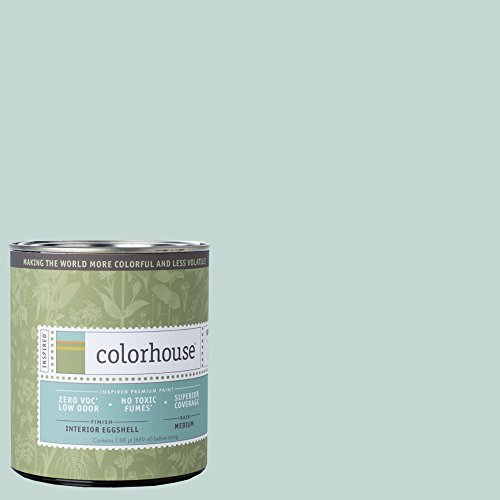 Inspired Eggshell Interior Paint, Wool .01, Quart (Light Blue Wall Paint compare prices)