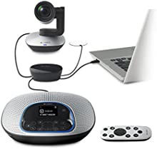 Comprar Logitech CC3000e - Webcam (1080p, 30 fps, USB 2.0), negro y plateado
