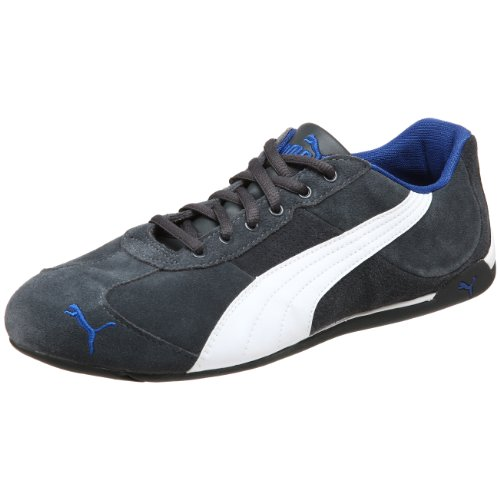 PUMA Men's Repli Cat III S Sneaker,Dark Shadow/White/New Team Royal,10.5 D(M) US