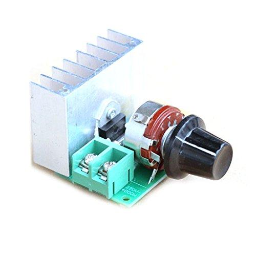Mokingtop(Tm) New 220V 4000W Scr Electric Voltage Speed Controller Regulator Switch Module