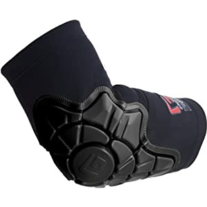 G-Form Elbow Pad, Pair (Black 2012, Medium (9.5-10.5 in))