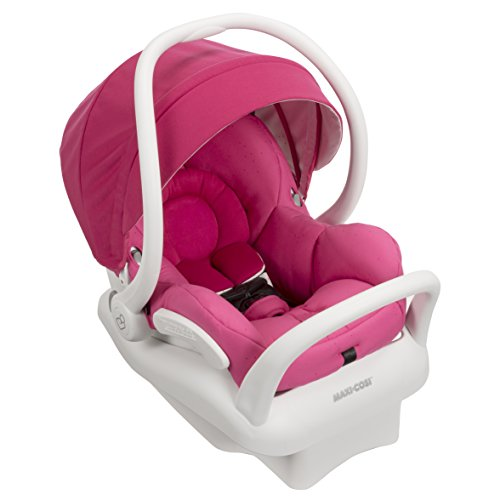 Maxi-Cosi-Mico-Max-30-Infant-Car-Seat-White-Collection-Pink-Berry