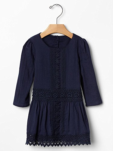 Gap Baby Embroidered Lace Dress Size 0-3 M front-864560