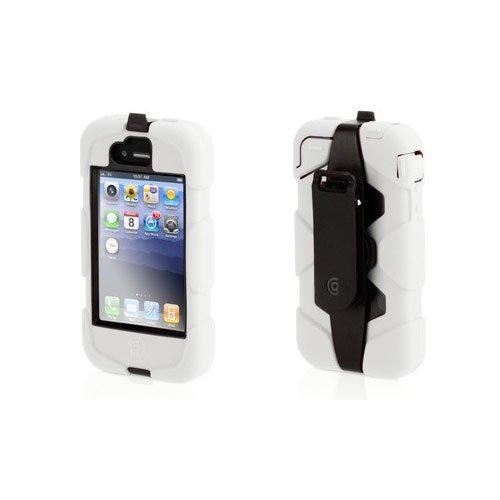 Griffin Survivor Extreme Duty Tough Case For iPhone 4/4S - Black/White