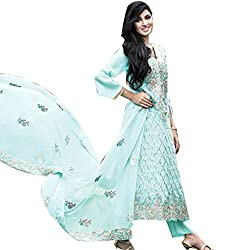 Pure chiffon suit with crepe trouser and chiffon dupatta
