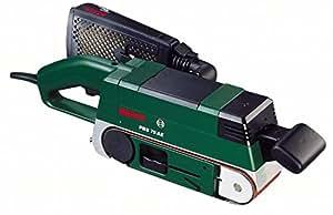 "Bosch PBS 75 AE Bandschleifer ""Expert"" + Winkeladapter + 1 Schleifband 75x533 mm (710 W, Bosch Electronic, Microfilter System)"