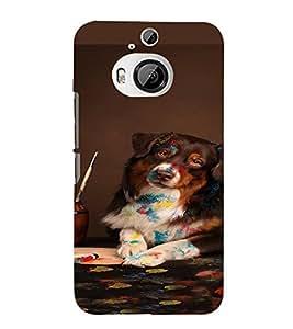 PrintVisa Animal Lion Design 3D Hard Polycarbonate Designer Back Case Cover for HTC ONE M9+