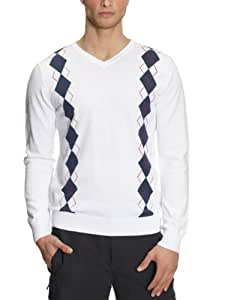PGA Tour Aurora Sweatshirt golf homme Blanc / Bleu S
