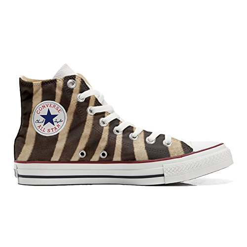 Converse All Star Chaussures Coutume (produit artisanal) zèbre