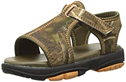 Natural Steps Hawthorn Sandal (Infant/Toddler/Little Kid), Realtree Camo, 4 M US Toddler