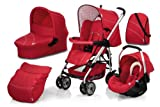 Hauck Condor All-in-One Travel System (Trio Red)