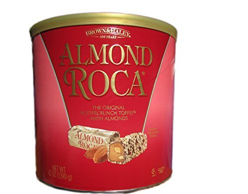 Almond Roca 42oz Canister Food, Beverages Tobacco Food Items Candy Gum ...