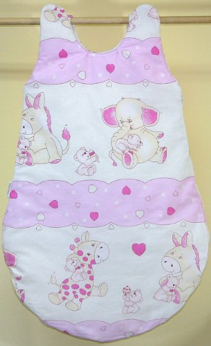Pink hearts Sleeping bag