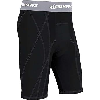 Buy Champro Adult DriGear Sliding Shorts , Black, xx-large by Champro