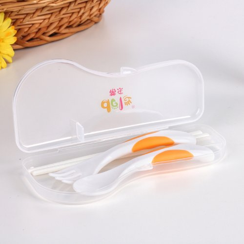 Dele Double-Color Fork Spoon And Chopsticks Combination Dl1216 front-618265