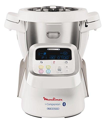 Moulinex HF9001 i-Companion Robot Multifunzione da Cucina, Connesso alla sua App Dedicata