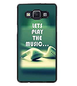PrintDhaba Quote D-2368 Back Case Cover for SAMSUNG GALAXY E5 (Multi-Coloured)