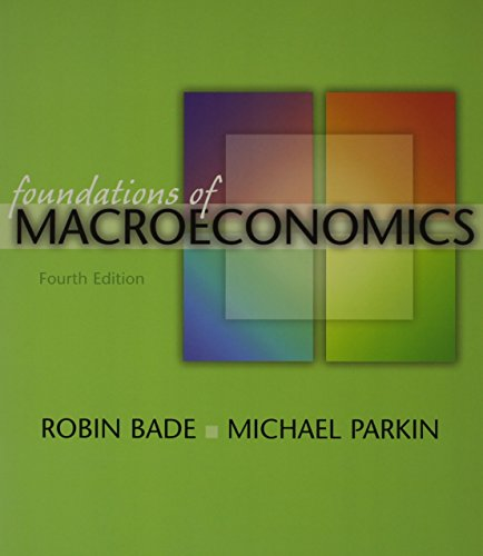 Foundations of Macroeconomics plus MyEconLab in CourseCompass Student Access Kit (4th Edition)