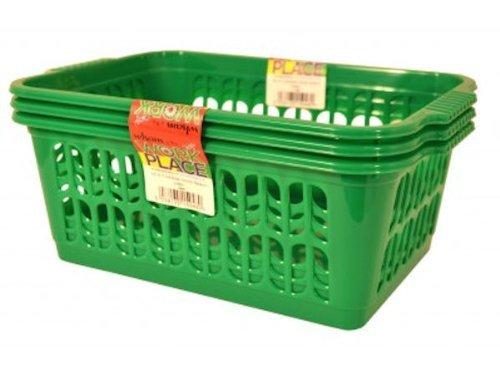 wham-green-set-of-3-medium-plastic-handy-fruit-vegetable-basket-kitchen-office-storage