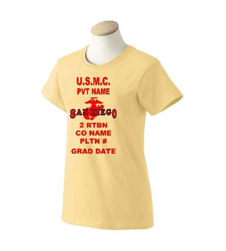 Gifts for your new marine at boot camp graduation for San diego custom t shirts