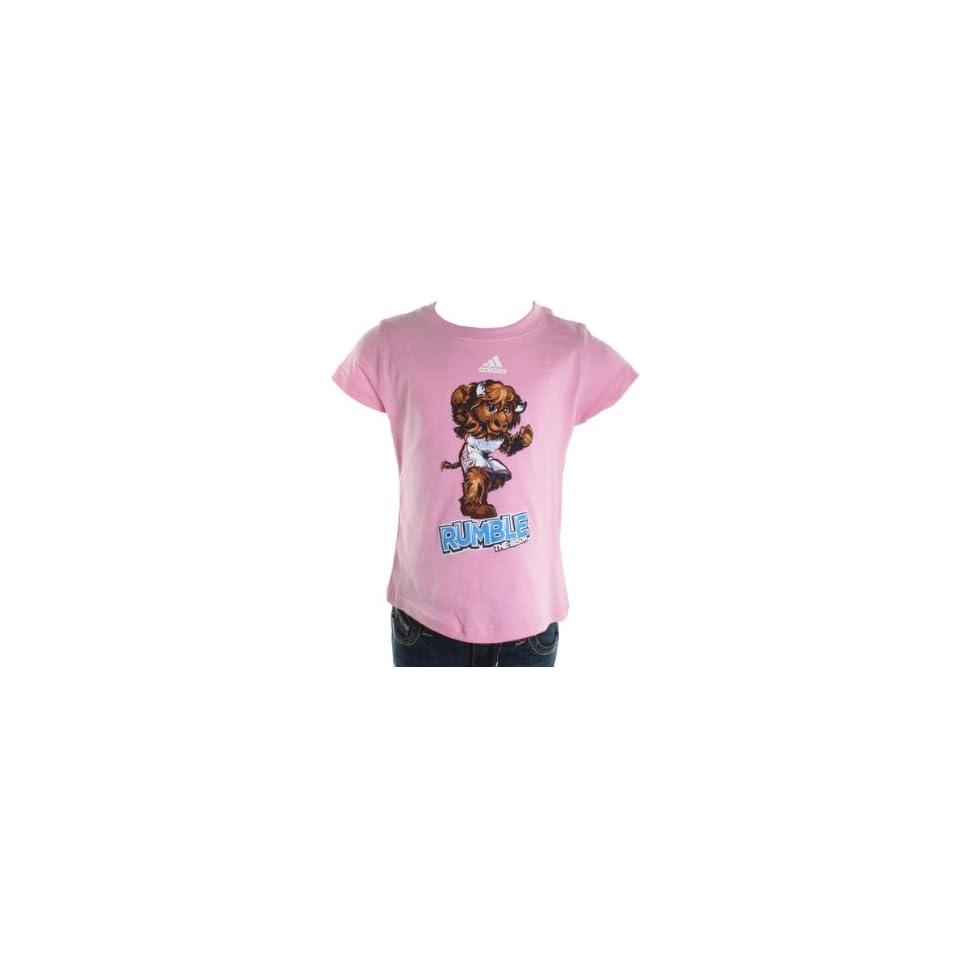 Adidas Oklahoma City Thunder S/S Rumble Pink 7 Kids Shirt