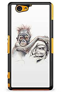 GeekCases Only Human Back Case for Sony_Xperia Xperia Z2