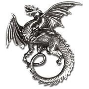 Whitby Wyrm Alchemy Gothic Dragon Necklace
