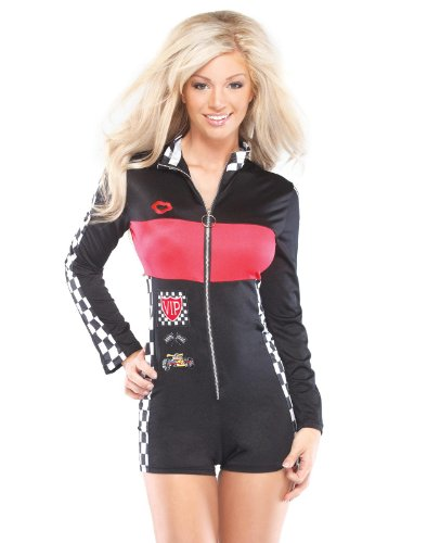 Coquette Womens Racer Girl Adult Costume