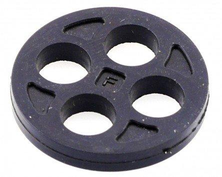 Gummidichtung SIP Benzinhahn, Fast Flow H 2mm, Durchmesser:21mm für VESPA PX125 E Lusso/EFL/Arcobaleno / Elestart 125 VNX2T 2T AC 83-97