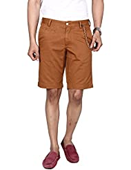 Hammock Men's Solid Chino Shorts - Brown