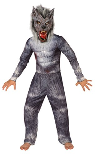 Boys Werewolf Kids Child Fancy Dress Party Halloween Costume