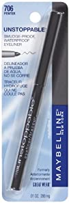Maybelline New York Unstoppable Eyeliner Carded Pewter 0.01 Ounce