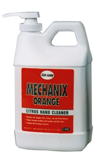 Buy CRC SL1717 Mechanix Orange Citrus Lotion Hand Cleaner w/Pumice, 64 Fl Oz