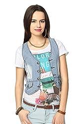 People Women's Cotton Down Jackets (P20402114746257_Mid Indigo_M)