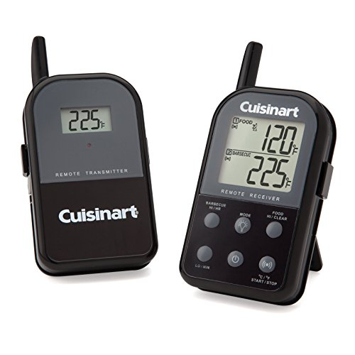 For Sale! Cuisinart CSG-900 Wireless Dual Probe Grilling Thermometer, Black