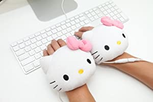 Sanrio Hello Kitty USB Handwarmers Gloves, Smoko